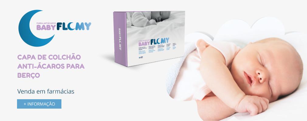 Capa de colchão anti-ácaros para berço Baby FLOMY